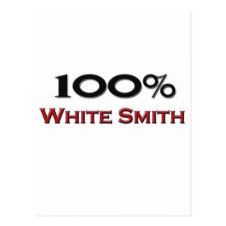 El 100 por ciento de blanco Smith Postal