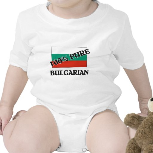 El 100 por ciento de BÚLGARO Camisetas