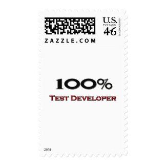 El 100 por ciento de desarrollador de la prueba