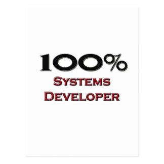 El 100 por ciento de desarrollador de los sistemas postales