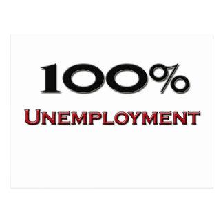 El 100 por ciento de desempleo postal