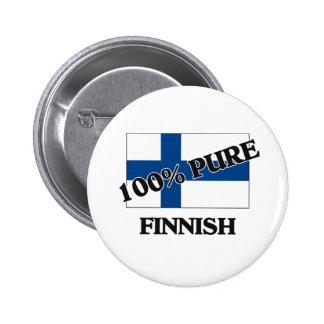 El 100 por ciento de FINLANDÉS Pin
