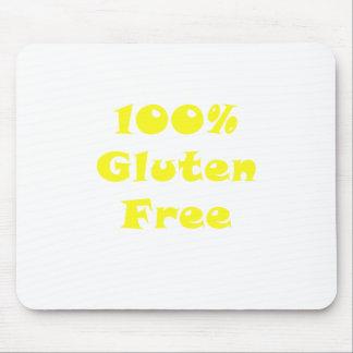 El 100 por ciento de gluten libera alfombrilla de ratones