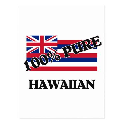 El 100 por ciento de Hawaiian Tarjetas Postales