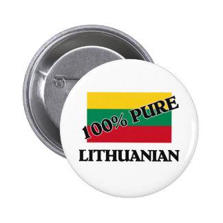 El 100 por ciento de LITHUANIAN Pin