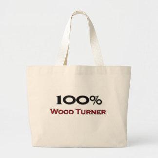 El 100 por ciento de madera Turner Bolsas Lienzo