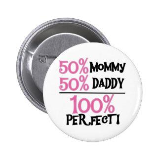 El 100 por ciento de perfecto pin