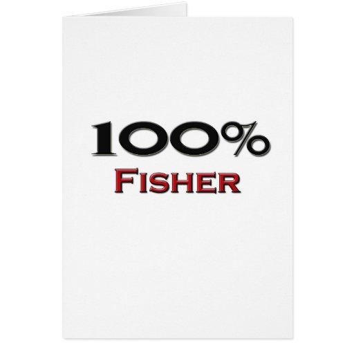 El 100 por ciento Fisher Tarjeton