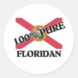 El 100 por ciento Floridan Pegatinas