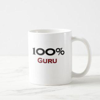 El 100 por ciento Guru Taza Básica Blanca