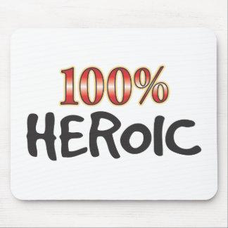 El 100 por ciento heroico alfombrilla de ratón
