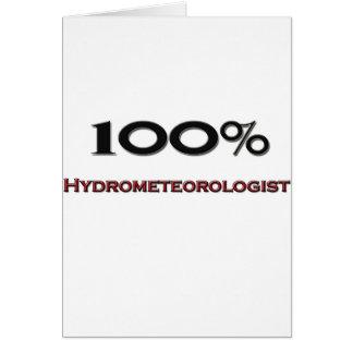 El 100 por ciento Hydrometeorologist Tarjeton