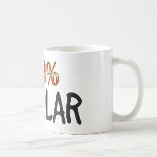 El 100 por ciento jocoso taza