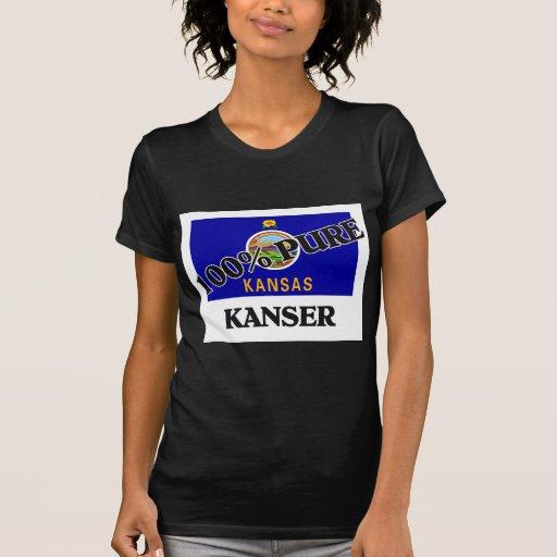 El 100 por ciento Kanser Camisetas