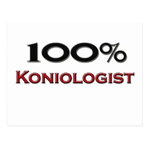 El 100 por ciento Koniologist Tarjeta Postal