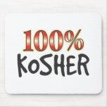 El 100 por ciento kosher tapetes de ratón