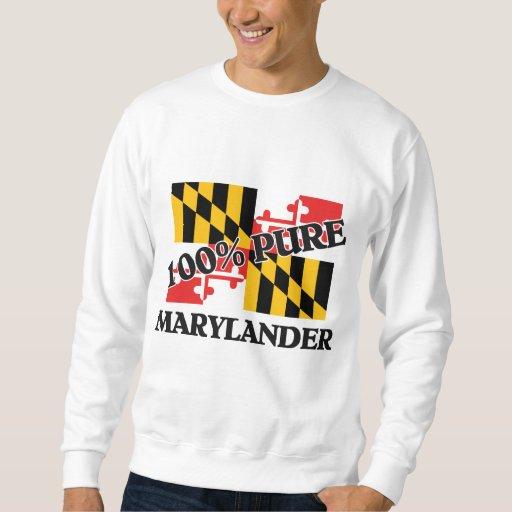 El 100 por ciento Marylander Sudadera