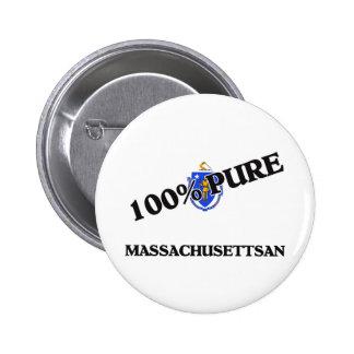El 100 por ciento Massachusettsan Pins