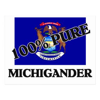 El 100 por ciento Michigander Tarjetas Postales