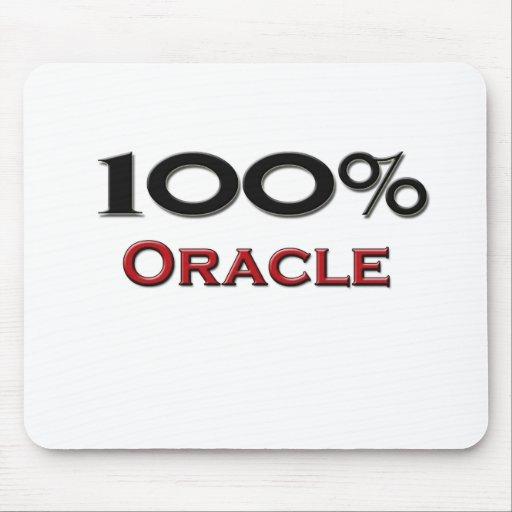 El 100 por ciento Oracle Alfombrilla De Ratón