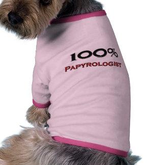 El 100 por ciento Papyrologist Camiseta De Perrito