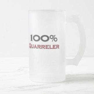El 100 por ciento Quarreler Taza De Café
