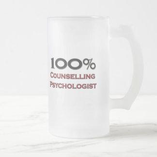 El 100 por ciento que aconseja al psicólogo tazas de café