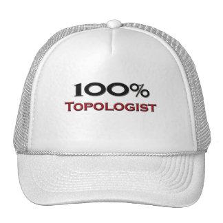 El 100 por ciento Topologist Gorro