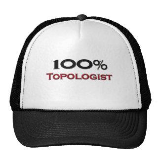 El 100 por ciento Topologist Gorros
