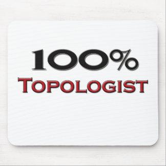 El 100 por ciento Topologist Alfombrilla De Raton