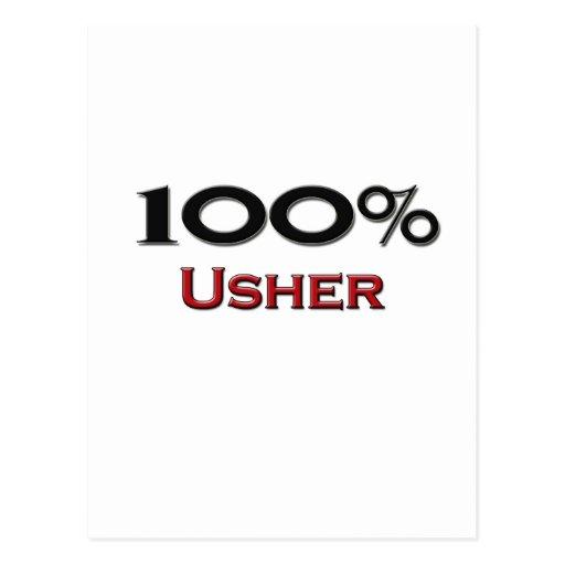El 100 por ciento Usher Postal