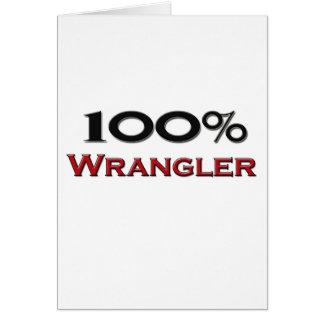 El 100 por ciento Wrangler Tarjeta De Felicitación