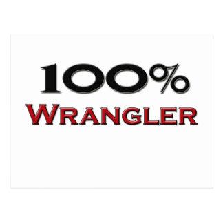 El 100 por ciento Wrangler Tarjetas Postales