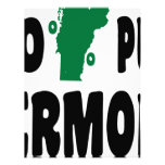 El 100% Vermont puro Membrete A Diseño