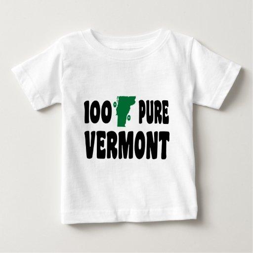 El 100% Vermont puro Playera De Bebé
