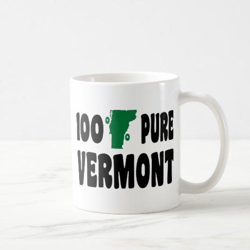 El 100% Vermont puro Tazas De Café