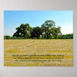 El 10:12 de Hosea cosecha y siembra el poster