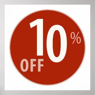El 10% potente de la muestra de la VENTA - poster