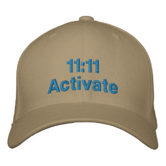 El 11:11 activa gorra de béisbol
