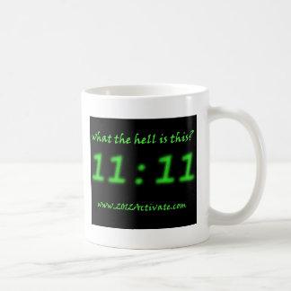 ¿El 11:11 CON es éste? Tazas De Café