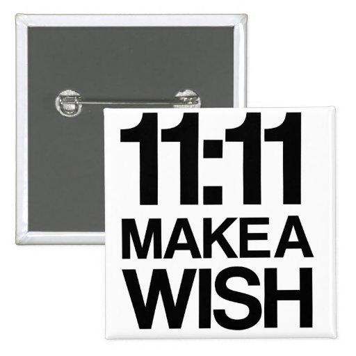 El 11:11 HACE un botón del DESEO