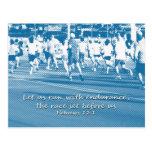 El 12:1 de los hebreos nos dejó correr la carrera postal