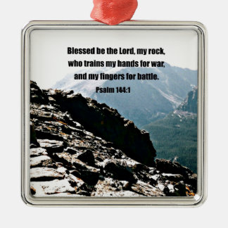 El 144:1 Blessed del salmo sea el señor… Ornamentos De Reyes