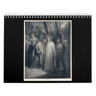 El 14:45 de la marca del beso de Judas de Gustave Calendarios