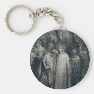 El 14:45 de la marca del beso de Judas de Gustave  Llaveros Personalizados