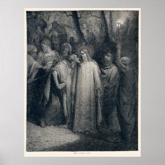 El 14:45 de la marca del beso de Judas de Gustave  Posters