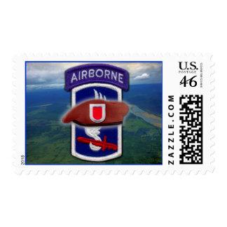 el 173o remiendo aerotransportado revisa el sello