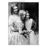 El ~ 1845 de Srtas. Binny y de Monroe Tarjeta De Felicitación