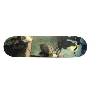 El 1907 de vuelta patineta personalizada