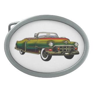 EL 1953 de Cadillac del personalizado del vintage Hebilla Cinturon Oval